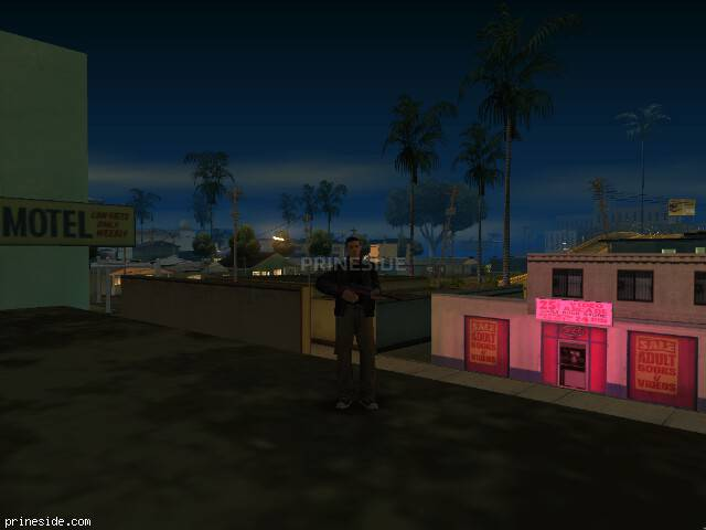 GTA San Andreas weather ID 5 at 0 hours