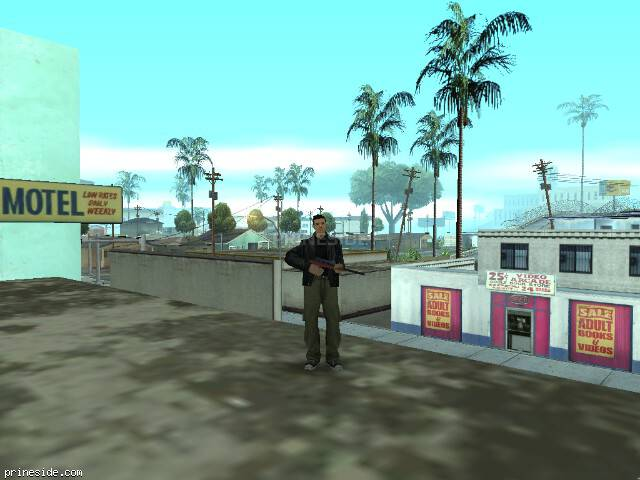 GTA San Andreas weather ID 5 at 10 hours