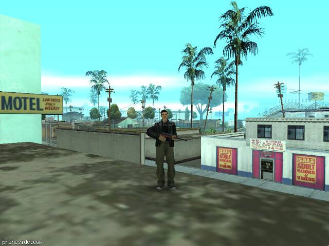 GTA San Andreas weather ID -507 at 11 hours