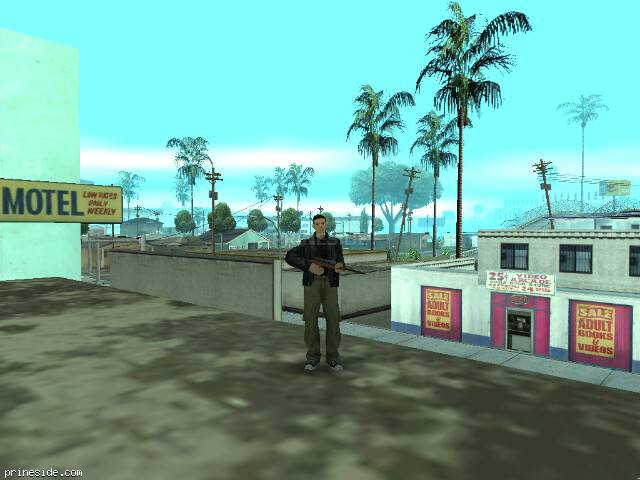 GTA San Andreas weather ID -507 at 14 hours