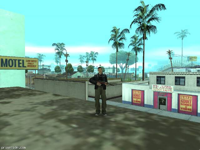GTA San Andreas weather ID -507 at 16 hours