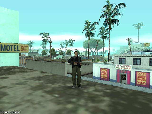 Просмотр погоды GTA San Andreas с ID 5 в 19 часов