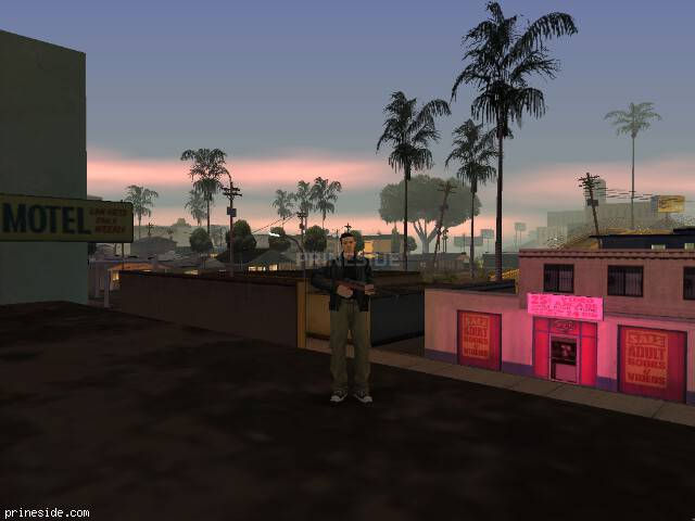 GTA San Andreas weather ID -507 at 21 hours