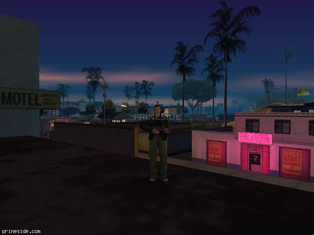 GTA San Andreas weather ID 5 at 22 hours