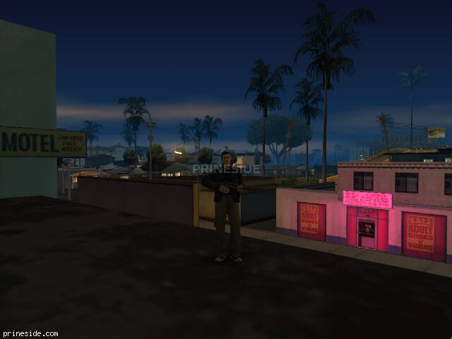 GTA San Andreas weather ID 5 at 23 hours