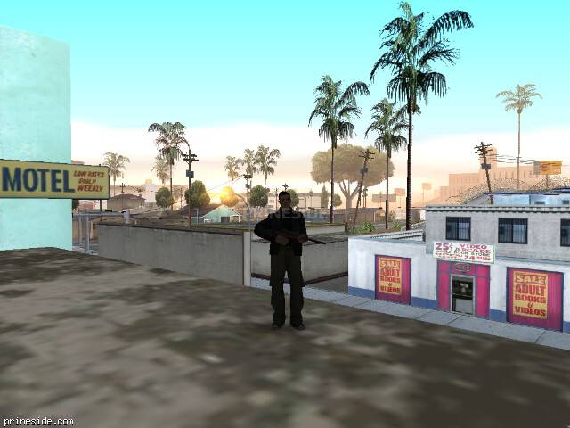 GTA San Andreas weather ID -1019 at 7 hours