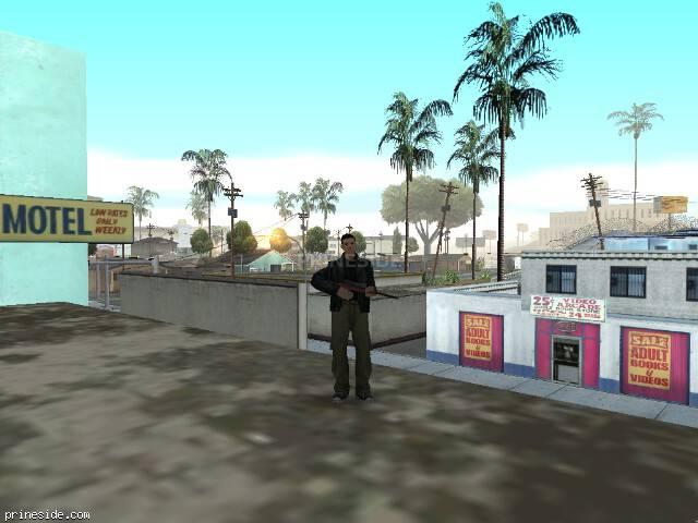 Просмотр погоды GTA San Andreas с ID -251 в 8 часов