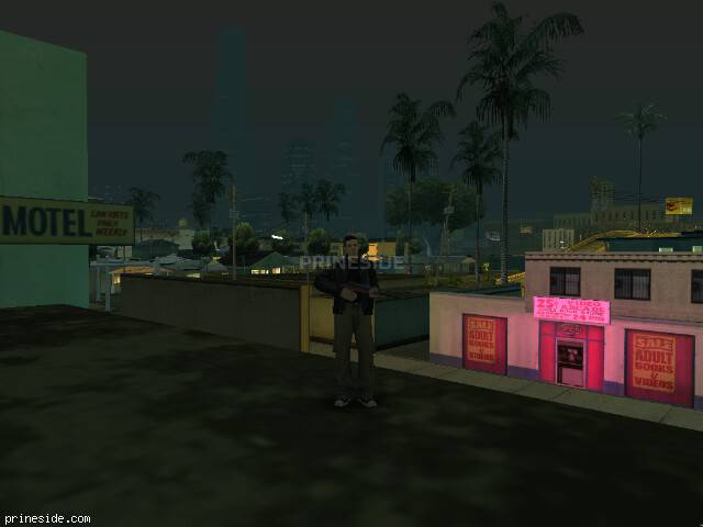 GTA San Andreas weather ID 50 at 0 hours