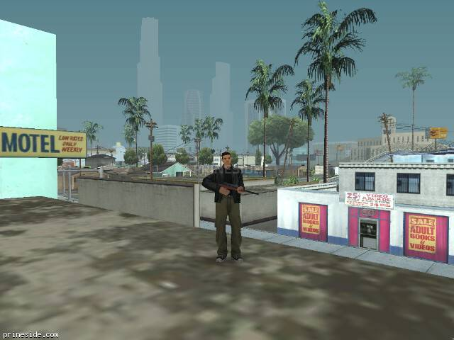 GTA San Andreas weather ID 50 at 11 hours