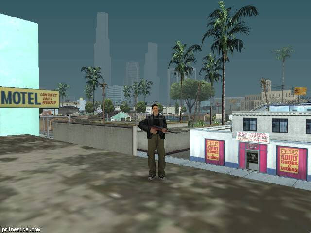 GTA San Andreas weather ID 50 at 13 hours