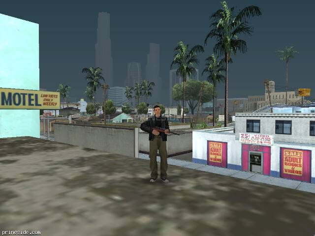 GTA San Andreas weather ID 50 at 15 hours
