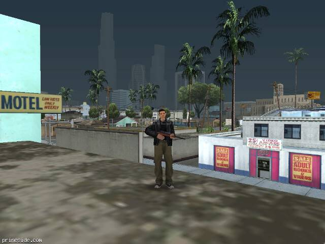 GTA San Andreas weather ID 50 at 16 hours