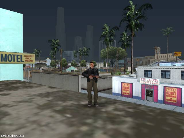 GTA San Andreas weather ID 50 at 17 hours