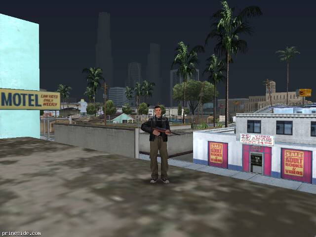 GTA San Andreas weather ID 50 at 18 hours