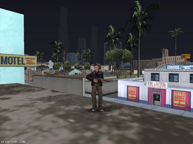 GTA San Andreas weather ID 50 at 19 hours