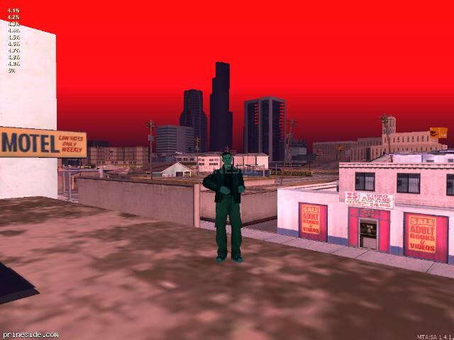 Просмотр погоды GTA San Andreas с ID 50 в 20 часов