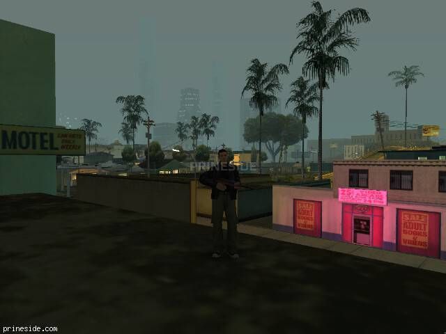 GTA San Andreas weather ID 50 at 2 hours