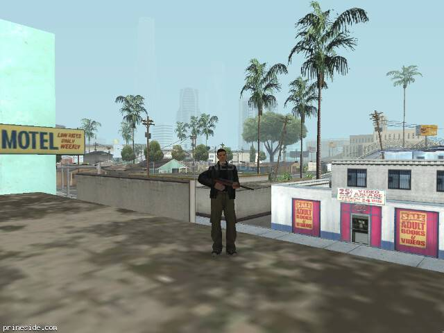 GTA San Andreas weather ID 50 at 8 hours