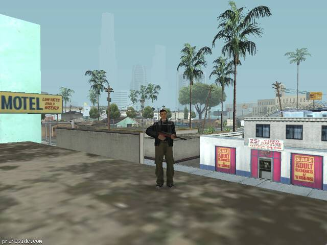 GTA San Andreas weather ID 50 at 9 hours