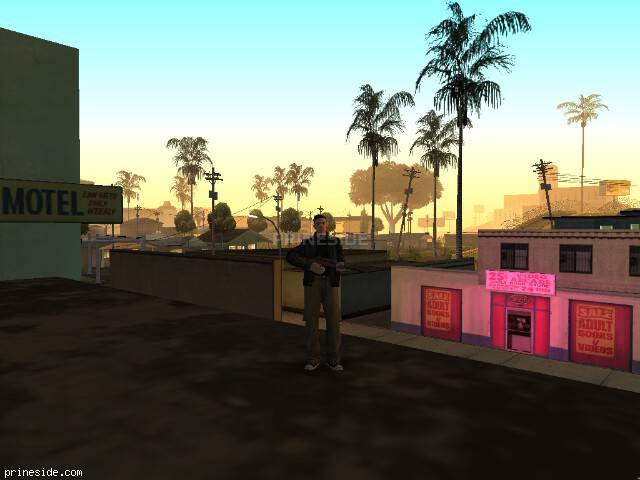GTA San Andreas weather ID 563 at 0 hours
