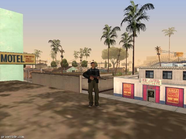 Просмотр погоды GTA San Andreas с ID 51 в 13 часов