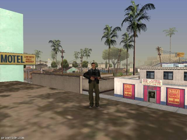 GTA San Andreas weather ID -205 at 15 hours