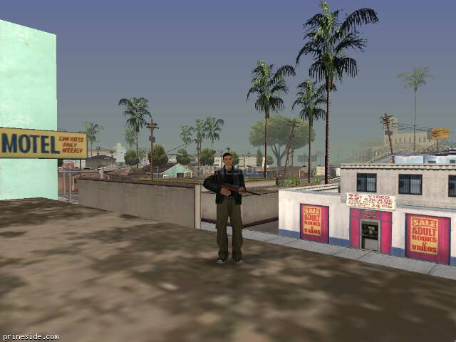 GTA San Andreas weather ID 51 at 16 hours