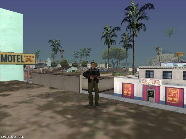 GTA San Andreas weather ID 51 at 17 hours
