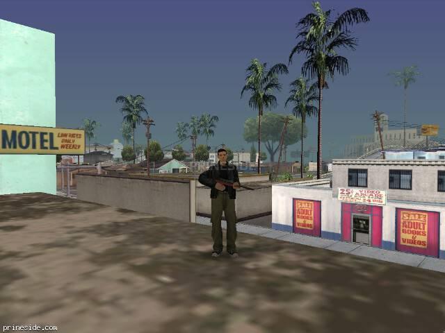 Просмотр погоды GTA San Andreas с ID 51 в 17 часов