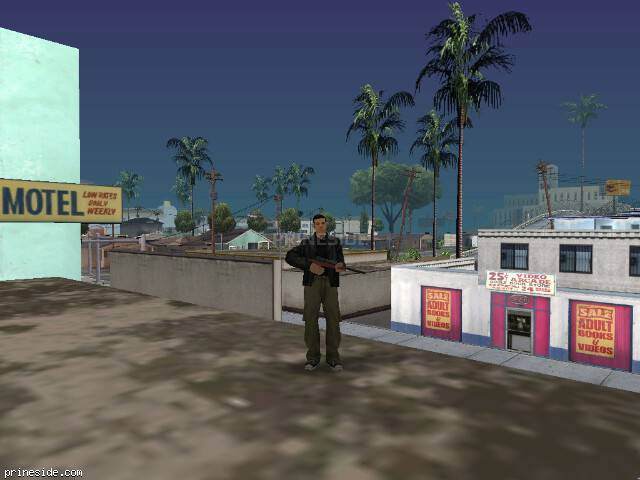 GTA San Andreas weather ID -205 at 18 hours