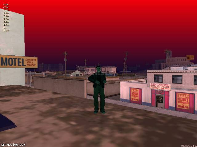 GTA San Andreas weather ID -461 at 20 hours
