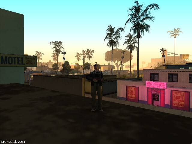 GTA San Andreas weather ID 51 at 2 hours