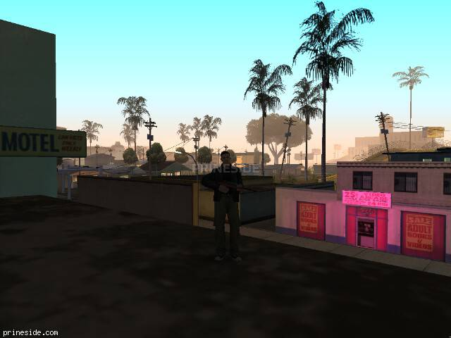 GTA San Andreas weather ID -205 at 5 hours