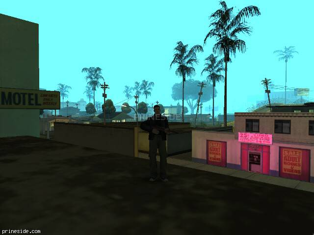 GTA San Andreas weather ID -461 at 6 hours