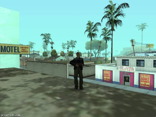 GTA San Andreas weather ID 51 at 7 hours