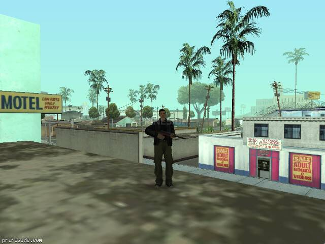 GTA San Andreas weather ID -205 at 8 hours