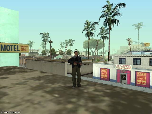 GTA San Andreas weather ID -205 at 9 hours
