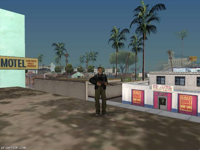 GTA San Andreas weather ID 52 at 17 hours