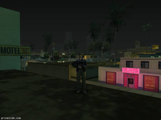 GTA San Andreas weather ID 566 at 0 hours