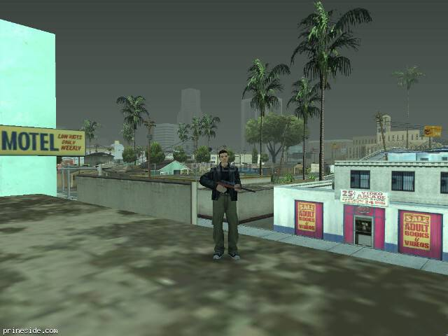 GTA San Andreas weather ID 54 at 14 hours