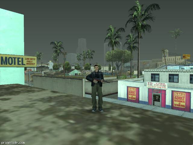 GTA San Andreas weather ID 822 at 15 hours