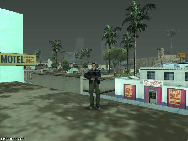 GTA San Andreas weather ID 1590 at 17 hours