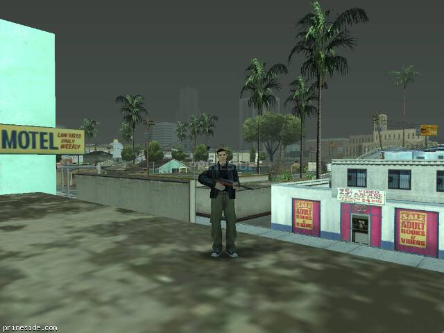 GTA San Andreas weather ID 566 at 19 hours