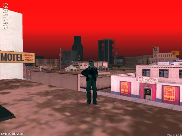 GTA San Andreas weather ID 566 at 20 hours
