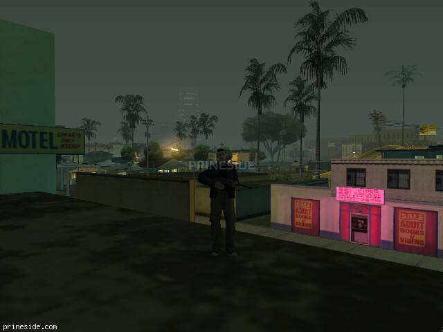GTA San Andreas weather ID 54 at 5 hours