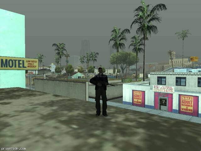 GTA San Andreas weather ID 54 at 7 hours