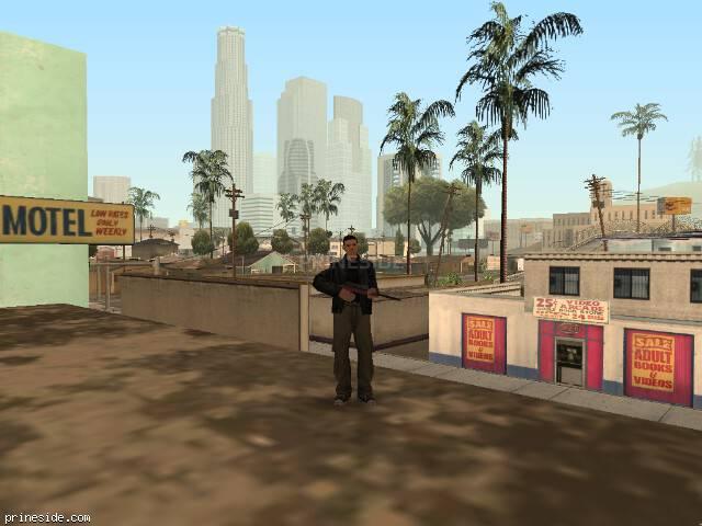 Просмотр погоды GTA San Andreas с ID 57 в 10 часов