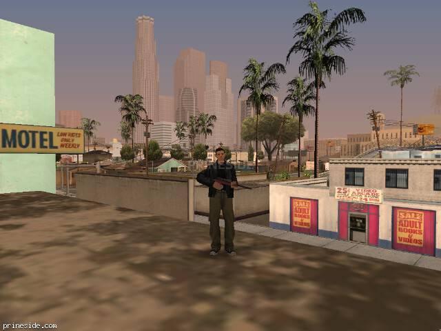 Просмотр погоды GTA San Andreas с ID 57 в 15 часов