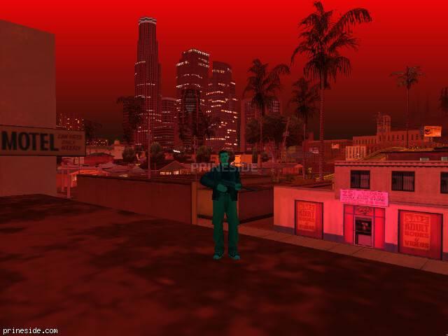 Просмотр погоды GTA San Andreas с ID 57 в 21 часов