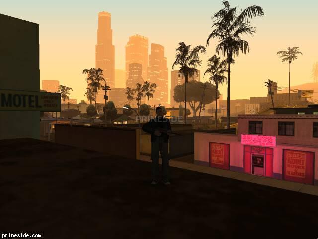 Просмотр погоды GTA San Andreas с ID 57 в 2 часов